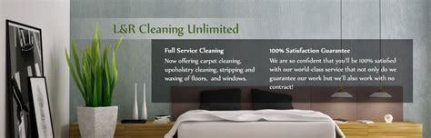 l r cleaning unlimited residential post construction