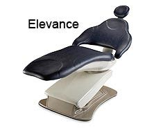elevance 174 dental chair midmark
