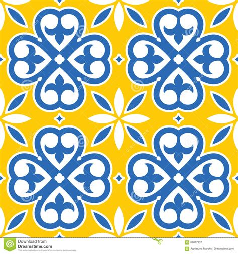 blue and yellow tile royalty 28 images portuguese