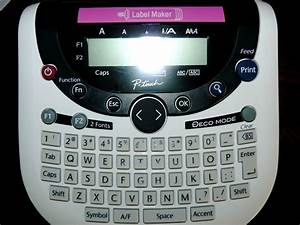 product review brother p touch label maker part two With kids label maker