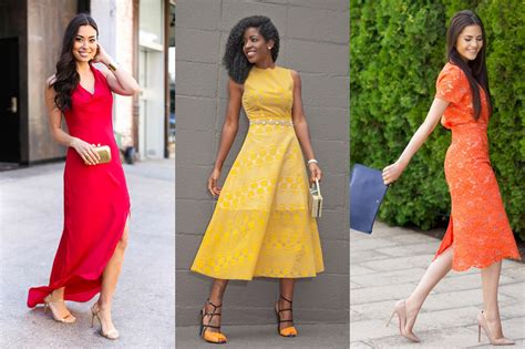what to wear to a wedding 6 ways to be the most stylish wedding guest of the summer glamour
