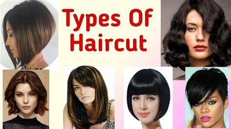 Types of Haircut 21 Stylish 💇 💁for Women YouTube
