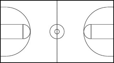 basketball court clipart  cliparts