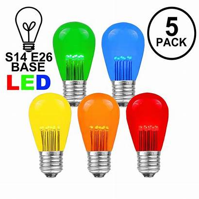 Bulbs Led S14 Multi E26 Base Medium
