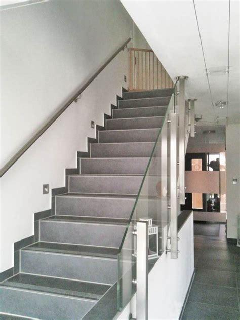treppengeländer aus glas edelstahl glas treppengel 228 nder nach einem kundenentwurf gefertigt