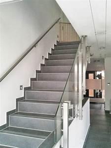 Treppengeländer Mit Glas : edelstahl glas treppengel nder nach einem kundenentwurf gefertigt ~ Markanthonyermac.com Haus und Dekorationen