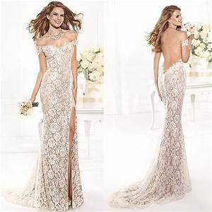 Aliexpress.com : Buy 2016 Mermaid Lace Prom Dress Off the ...