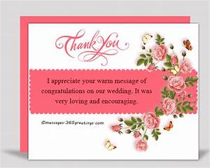 Thank You Messages for the Congratulations  365greetings