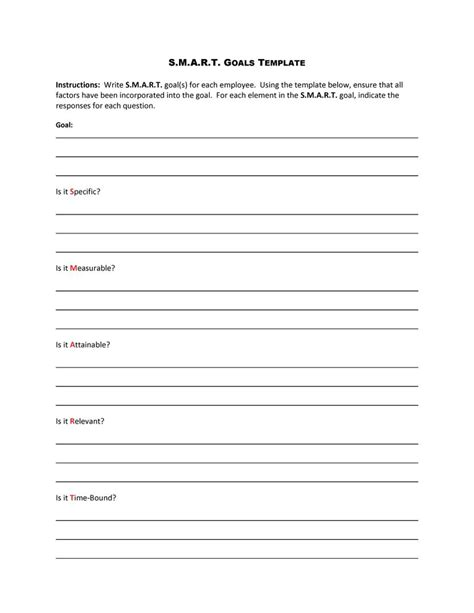 worksheet smart goals worksheet template worksheet