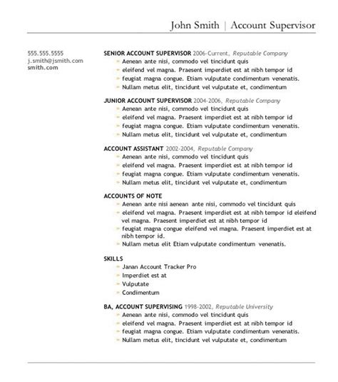 Cosmetology Resume Sles by Accounts Resume Format Glamorous Accounts Payable Resume