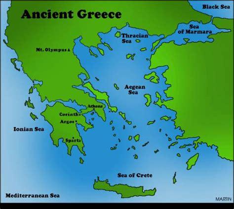 map  ancient greece holiday map  holidaymapqcom