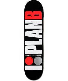 plan b team og 7 75 quot black skateboard deck at zumiez pdp