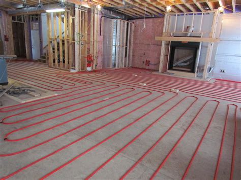 heated floors installing hydronic radiant floor heating architecture hot water heated