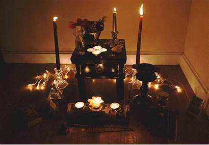 Yule Altar Druid Pagan Witch Yuletide Lilith