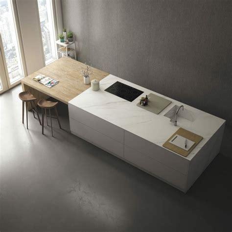 tapis plan de travail cuisine photo cuisine avec plan de travail moderne en 65 idées