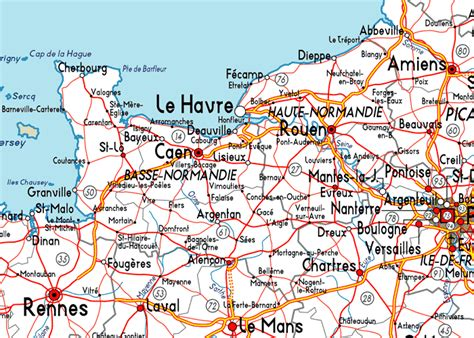 normandy map normandy pinterest normandy map