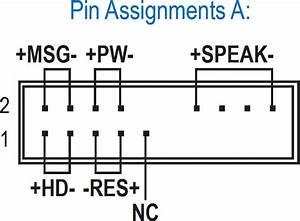 Foxconn N15235 Front Panel Diagram