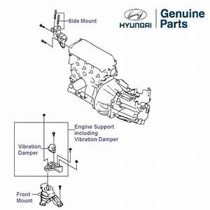 Hyundai Getz Prime 1 1 Petrol  Engine Mounts  U0026 Supports