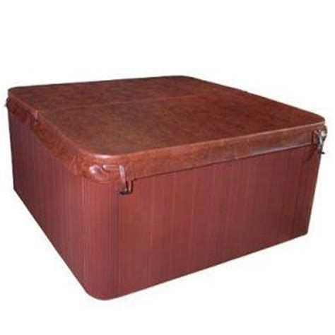 tub cover qca spas 81 5 in x 81 5 in tub cover for