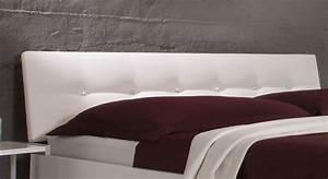 Futonbett 100x200 Weiß : hochglanzbett in wei in z b 100x200 cm mit strass arturo ~ Markanthonyermac.com Haus und Dekorationen