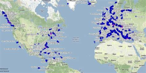 Cruise Ship Tracker / Tracking Map Live - CRUISIN