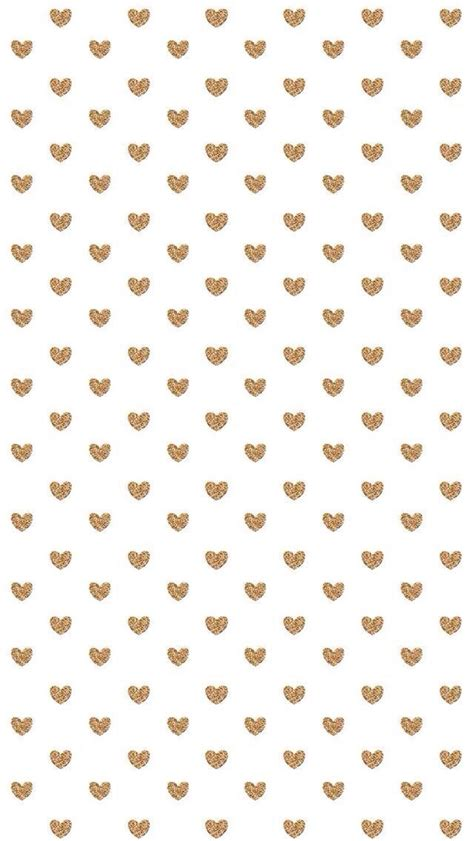Mini Backgrounds by White Gold Mini Hearts Iphone Background Wallpaper Phone