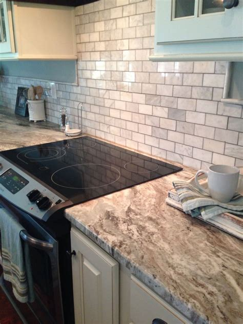 fantasy brown granite  marble tile sheet backsplash