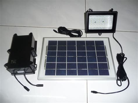diy 6v solar led spot flood light system panel sabah end