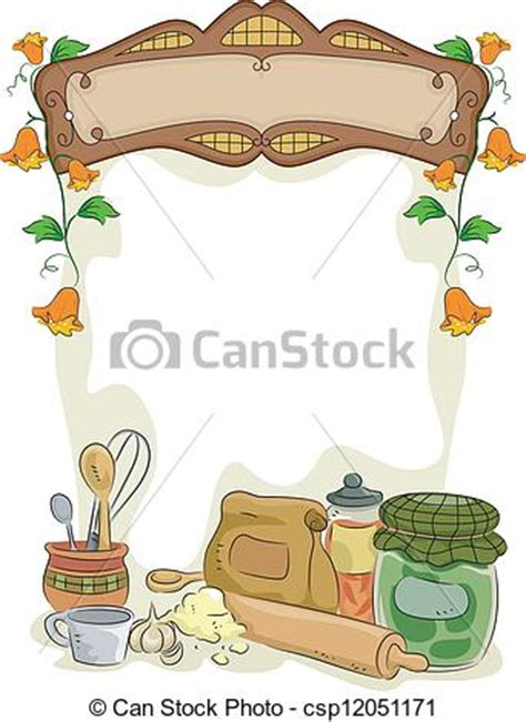 country kitchen clipart background illustration of country kitchen with blank 2758