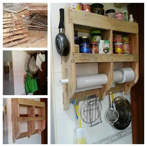top  cool diy kitchen pallets ideas