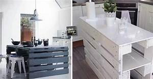 Isola cucina con i pallet 15 idee a cui ispirarsi for Isola cucina fai da te