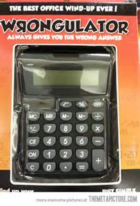 Funny Office Calculator