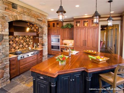 Mixing Kitchen Cabinet Styles and Finishes   HGTV