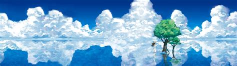 3840x1080 Wallpaper Anime - wallpaper anime sky winter iceberg arctic mount