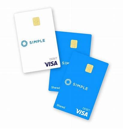 Simple Checking Debit Banking Accounts Card Visa