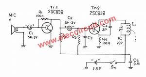 1 5v Fm Transmitter Circuit  88-108mhz