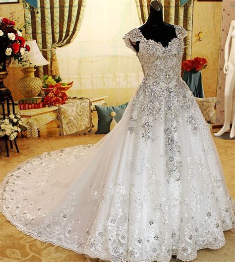 A Line, Ball Gown, Mermaid and Sheath Diamond Bridal Gowns ? Designers Outfits Collection