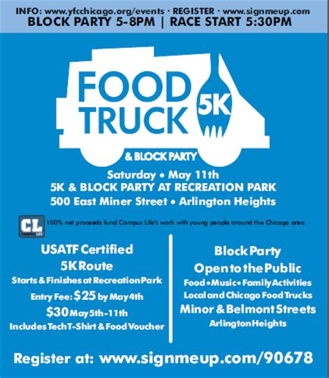 A Little Time And A Keyboard Food Truck 5k & Block Party