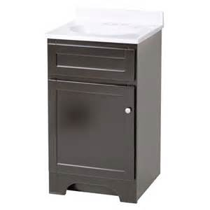columbia 18 inch espresso bath vanity with cultured marble