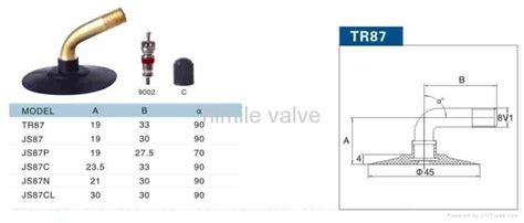 Motorcycle Valve Tr87
