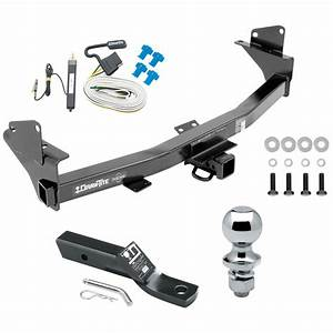 Trailer Tow Hitch For 15  Wiring And 1 8 U0026quot  Ball