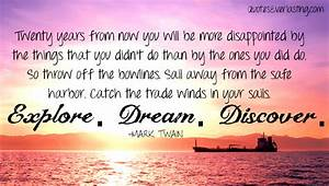 Explore Dream Discover | Quotes Everlasting