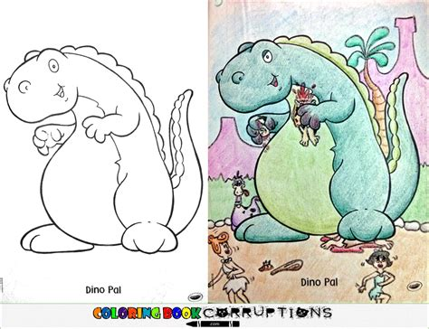 childhood colouring books   nightmares