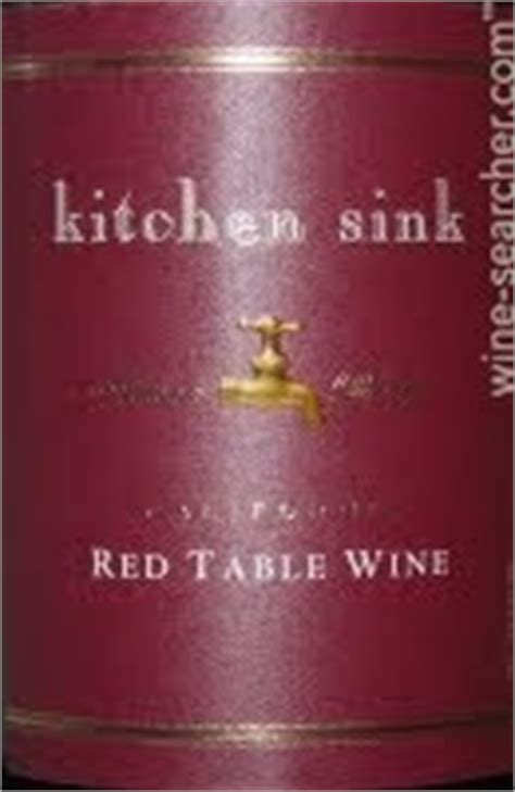 kitchen sink white table wine artisan blends kitchen sink table wine california 8567