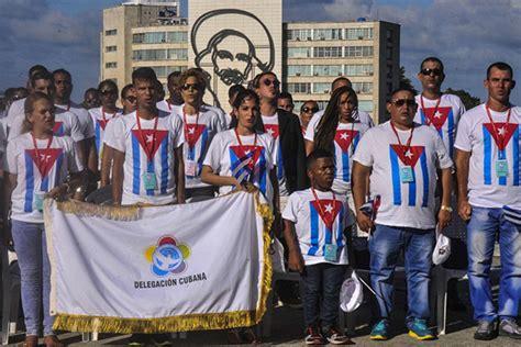la delegacion cubana desfilara hoy en sochi acn