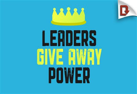 leaders give  power leadertreks youth ministry