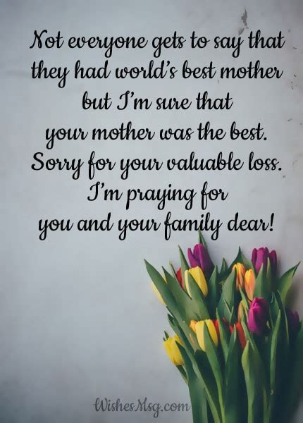 condolence messages  death  mother sympathy quotes