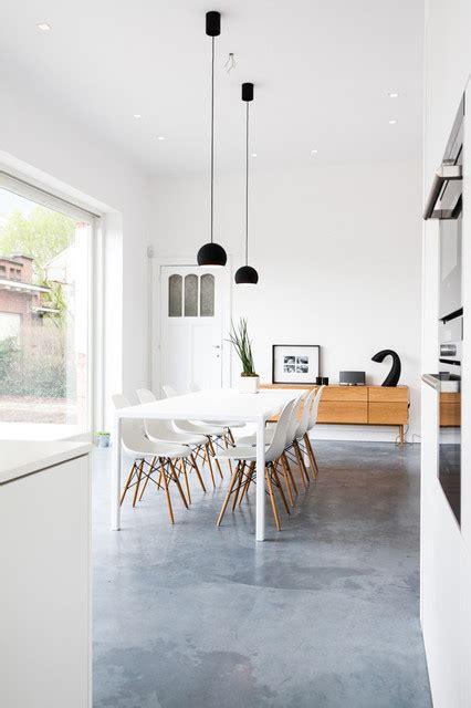 kitchen polished concrete floor open plan kitchen dining area with polished concrete floor villakl