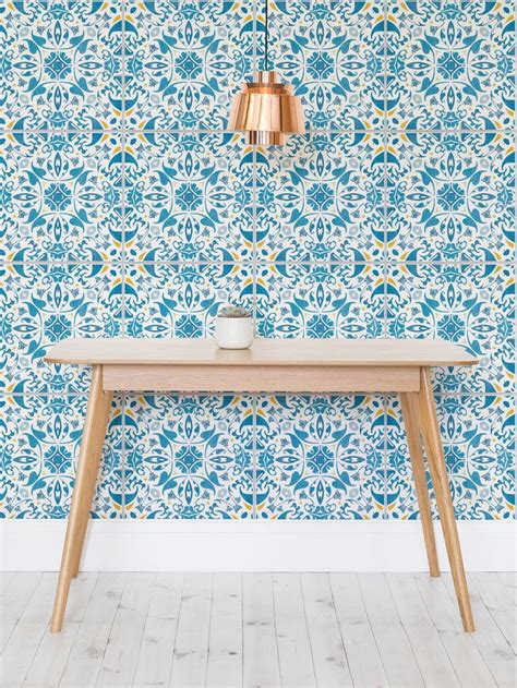 Kitchen Wall Decor Target by 25 Best Ideas About Tile Wallpaper On