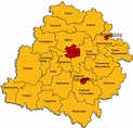 Kielce and Radom Gubernias -- Geographic History